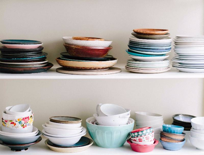 Plates in a Cupboard