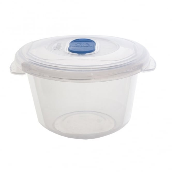0.35 Litre Round Freezer to Microwave Plastic Food Storage Box