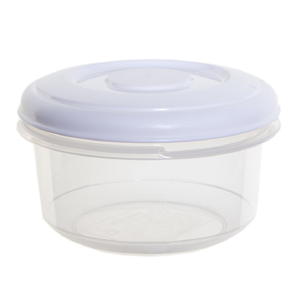 buy 500ml round plastic food box with lid. Black Bedroom Furniture Sets. Home Design Ideas