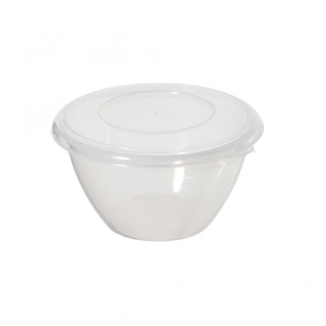 0.6 Litre Round Plastic Pudding Bowl for Steaming