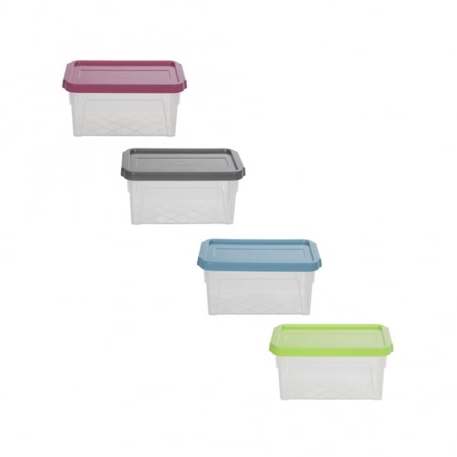 0.8L Spacemaster Extra Plastic Box with Lid