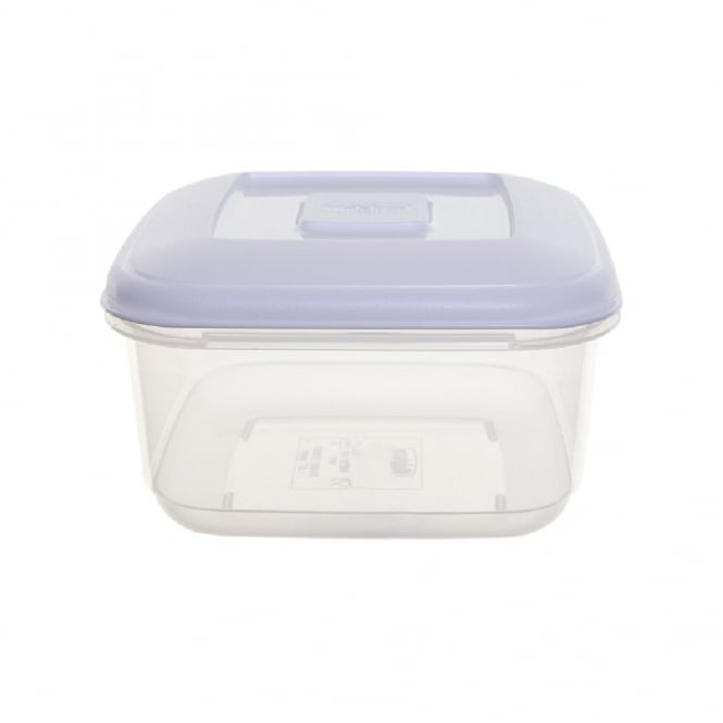 1.6 Litre Square Plastic Food Storage Box