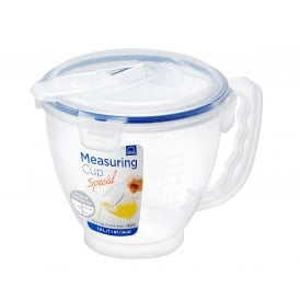 1 Litre Measuring Cup with Airtight Clip on Lid
