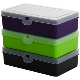 14.5cm (1.01) Hobby Craft Bits and Bobs 5 Compartment Divided Organiser Plastic Box