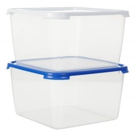 15 litre Square Cake Plastic Storage Box