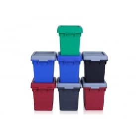 2.3 Litre Wham Bam Strong Heavy Duty Plastic Box with Lid