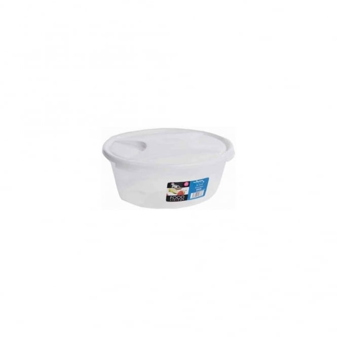 2 Litre Oval Cuisine Food Box with Lid