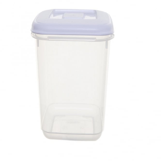 2 Litre Square Tall Canister Plastic Box