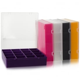29cm (10.02) Square Plastic Organiser with 16 Compartments