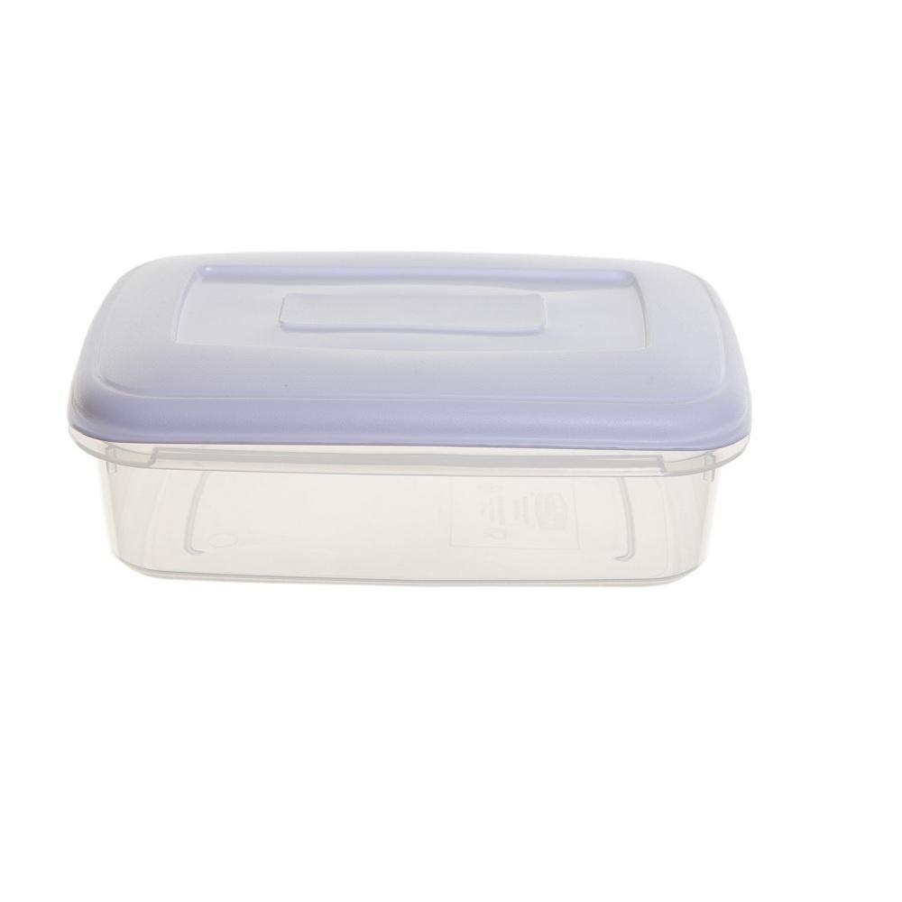 buy 4lt rectangular plastic food box with airtight lid. Black Bedroom Furniture Sets. Home Design Ideas