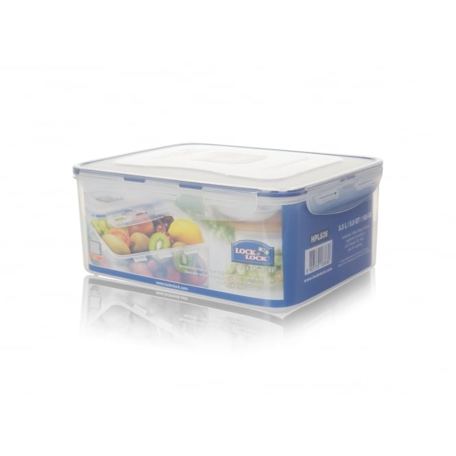 5.5 Litre Rectangular Box with Freshness Tray