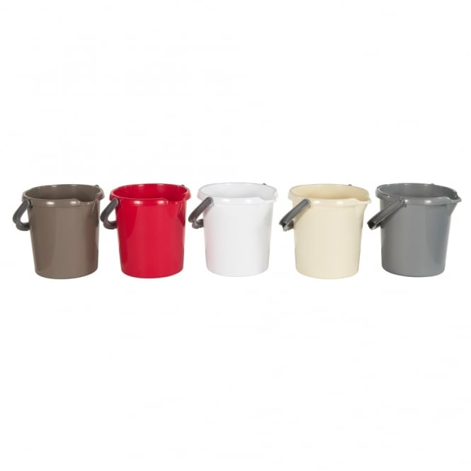 5 Litre Capacity Small Plastic Bucket with Handle