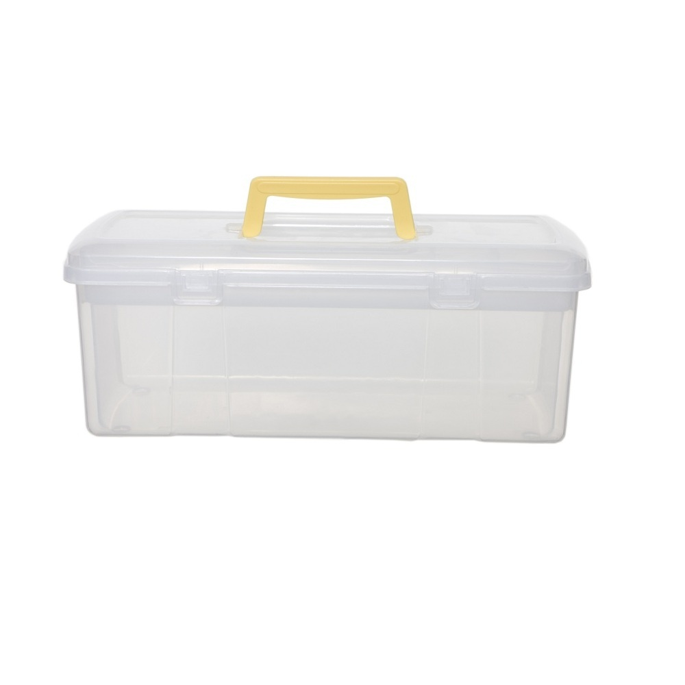 Buy 5lt small plastic utility tool box 5lt small craft for Craft storage boxes plastic