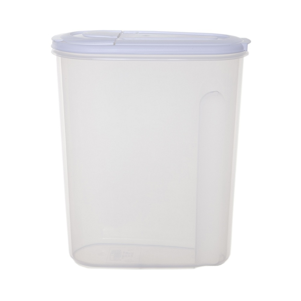 4 Litre Plastic Clear Cereal Storage Container   Great For All Sorts Of Food