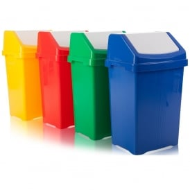 Green Plastic Kitchen Bins