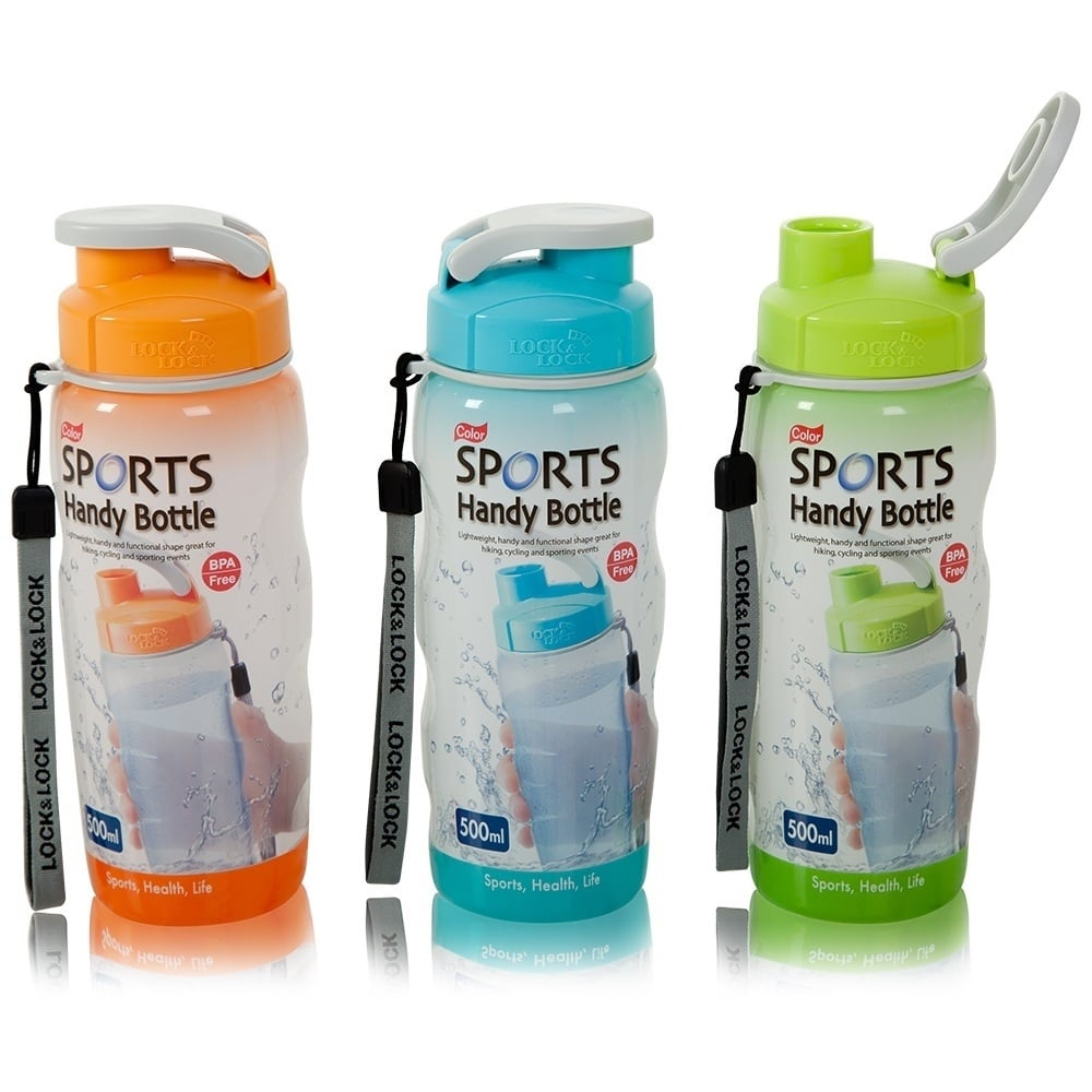 Sports Bottle With Storage Compartment: 500ml Sports Handy Bottle