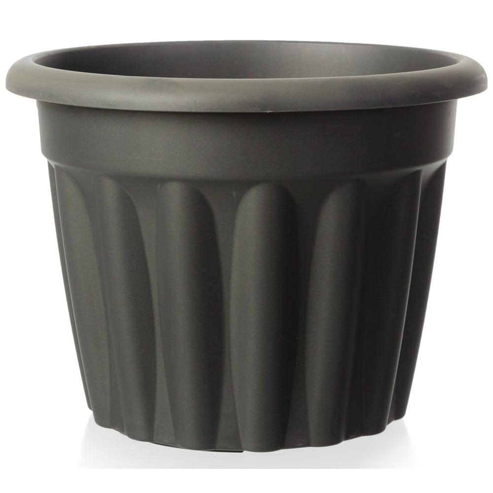 225 & 60cm Vista Extra Large Round Plastic Plant Pot