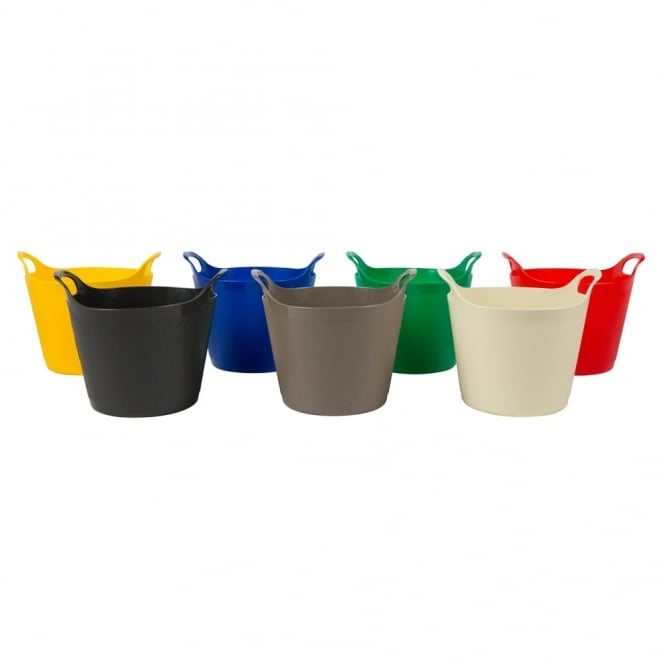 8 Litre Extra Small Graduated Flexi Tub Bucket