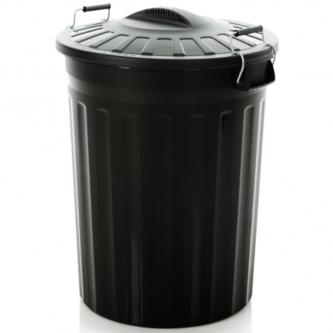 80 Litre Plastic Bin With Clip on Lid