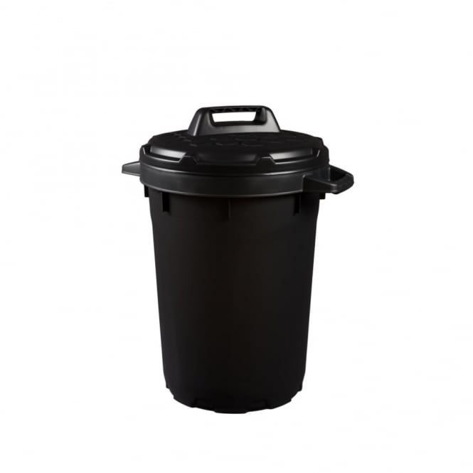 90 Litre Heavy Duty Plastic Bin with Lid