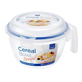 950ml Cereal Bowl with Airtight Clip on Lid