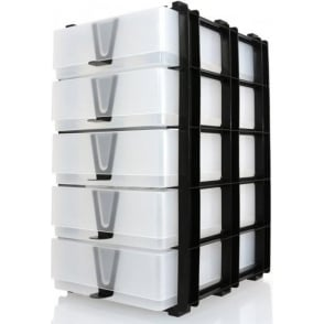 Home Organization 2019 New Style Green Craft Storage Stak With 10 X A4 Clear Slim Boxes Bead Storage & Jewelry Display