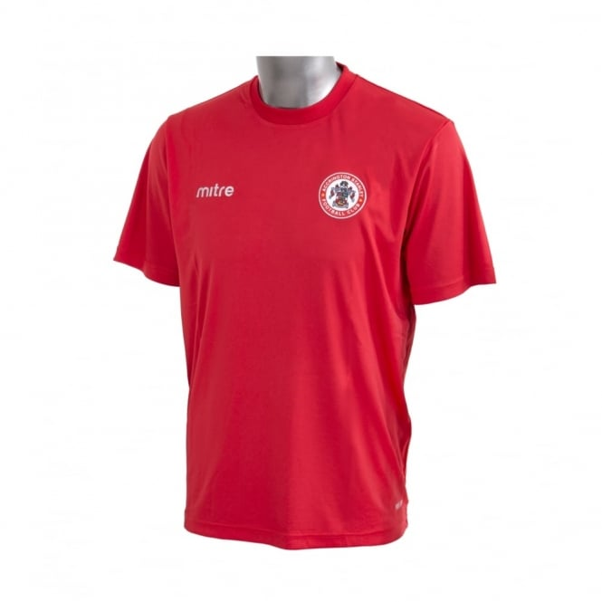 Accrington Stanley Jersey T-Shirt - Red