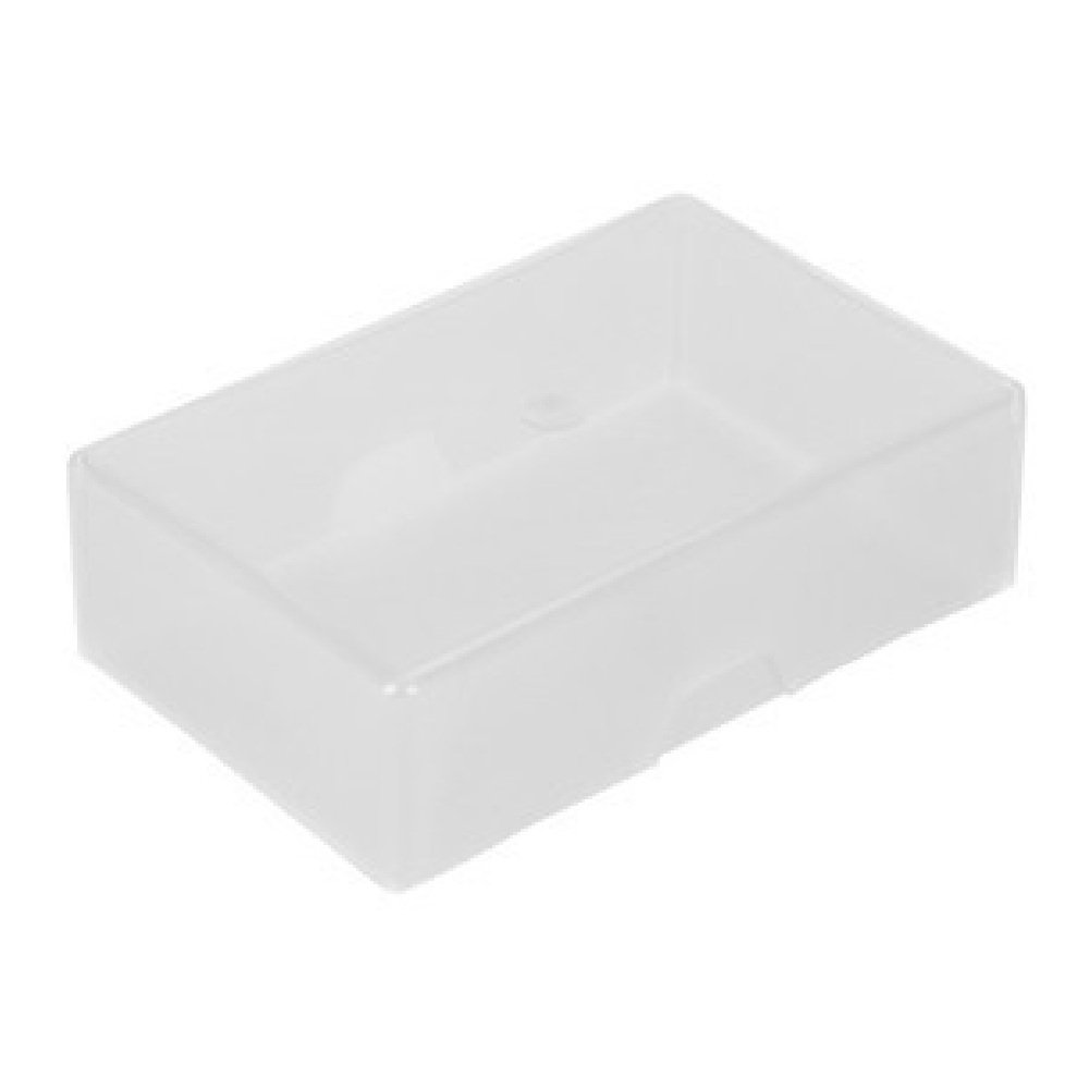 1x Clear Plastic Storage Box Playing Cards Case Business Card Holder Card Box