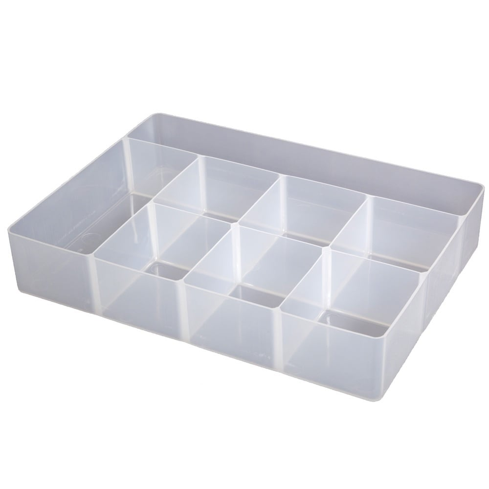 Buy craft compartment plastic organiser box for Craft storage boxes with compartments