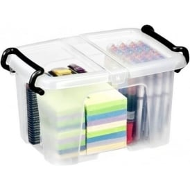 6 Litre Strata Smart Storemaster Plastic Storage Box with Lid