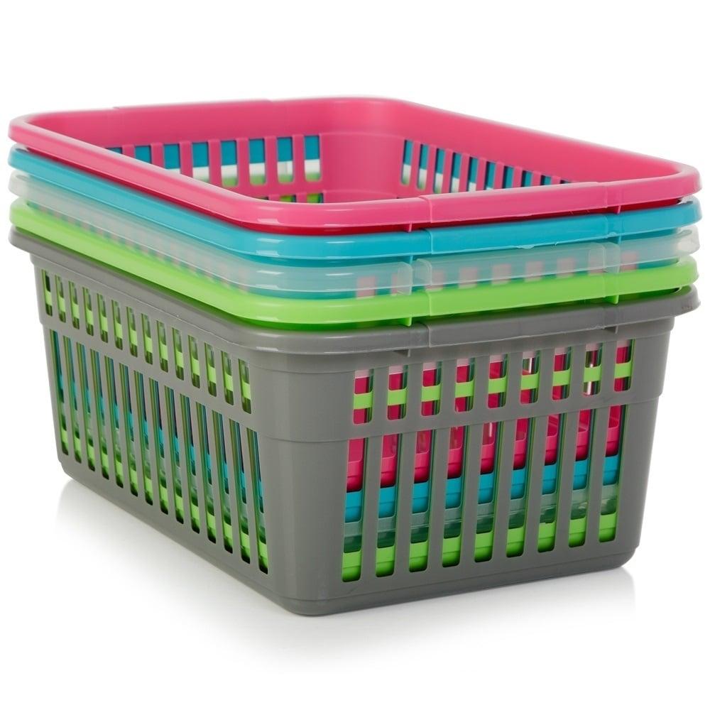 Buy Large 45cm Plastic Handy Tidy Basket