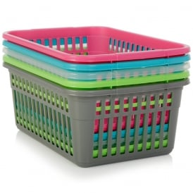 Extra Large 45cm Plastic Handy Tidy Basket