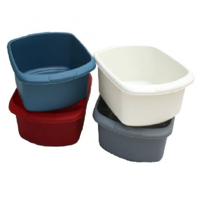Large Rectangular Plastic Washing Up Bowl