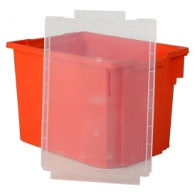 LID ONLY - For Shallow, Deep and Jumbo Gratnells Trays - Clear