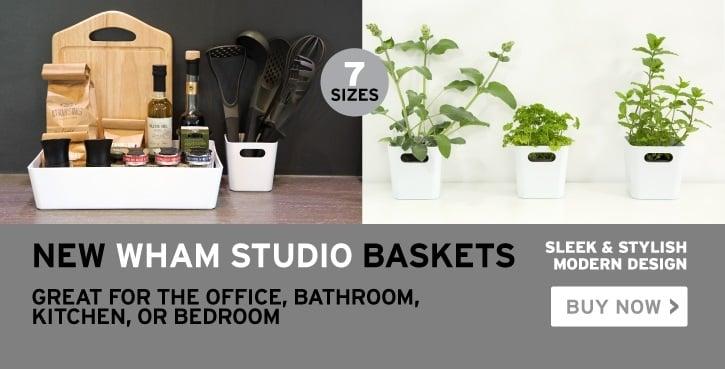 Studio baskets