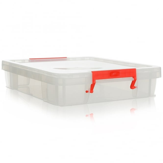 Pack of 2 - 12 Litre Shallow Allstore Boxes - will fit A3 paper