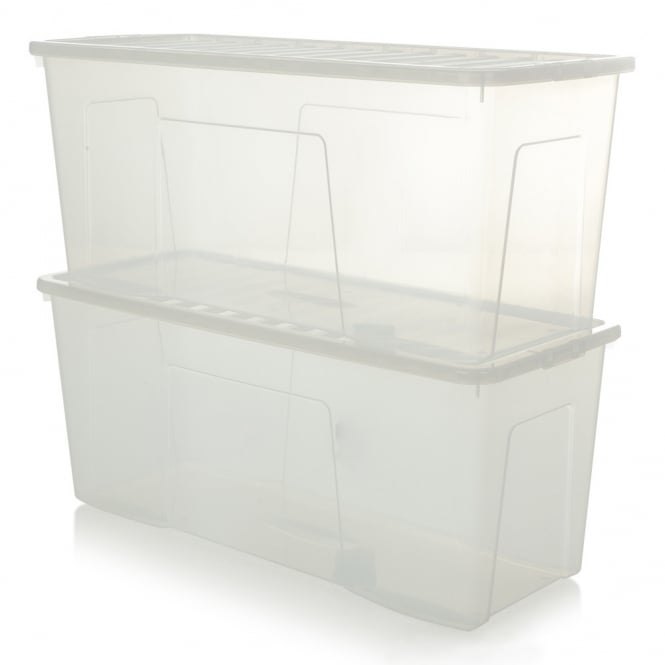 Buy Extra Large Long 1m Plastic Storage Box Ideal for ...