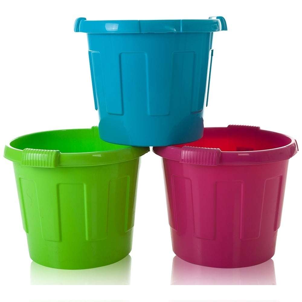 Buy Large Round Plastic Toy Sports Equipment Bin