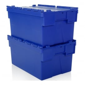Pack of 2 - 56 Litre Attached Lid ALC Containers (310mm high)