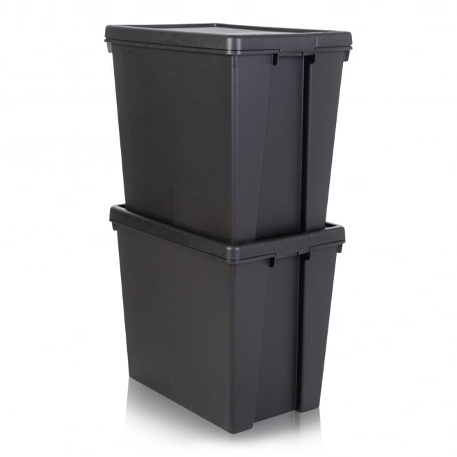 Pack of 2 - 92 Litre Wham Bam Heavy Duty Recycled Box with Lid