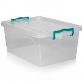A4 SLIM A5 DEEP. CLEAR PLASTIC STORAGE BOXES IN 3 SIZES A4 DEEP