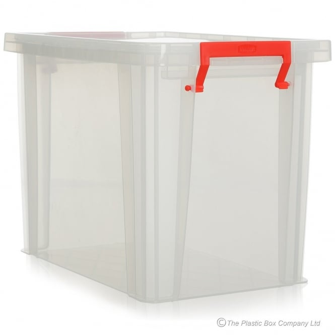 Pack of 3 - 18.5 Litre Allstore Plastic Storage Boxes