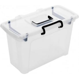 Pack of 3 - 21 Litre Smart Storemaster Plastic File Boxes