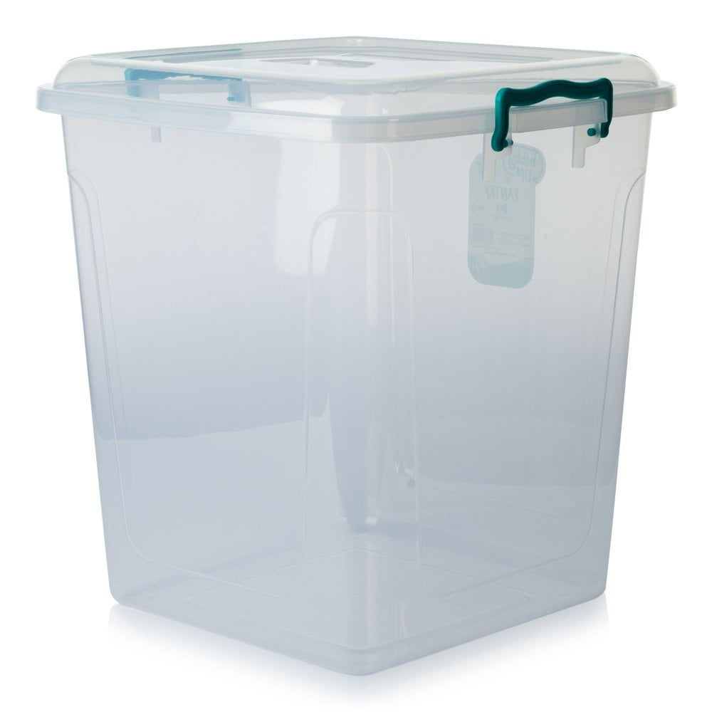 Pantry Box Size: Buy Pack Of 3 40 Litre Square Plastic Pantry Box