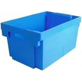 Pack of 3 - 56 Litre Heavy Duty Plastic Tote Boxes