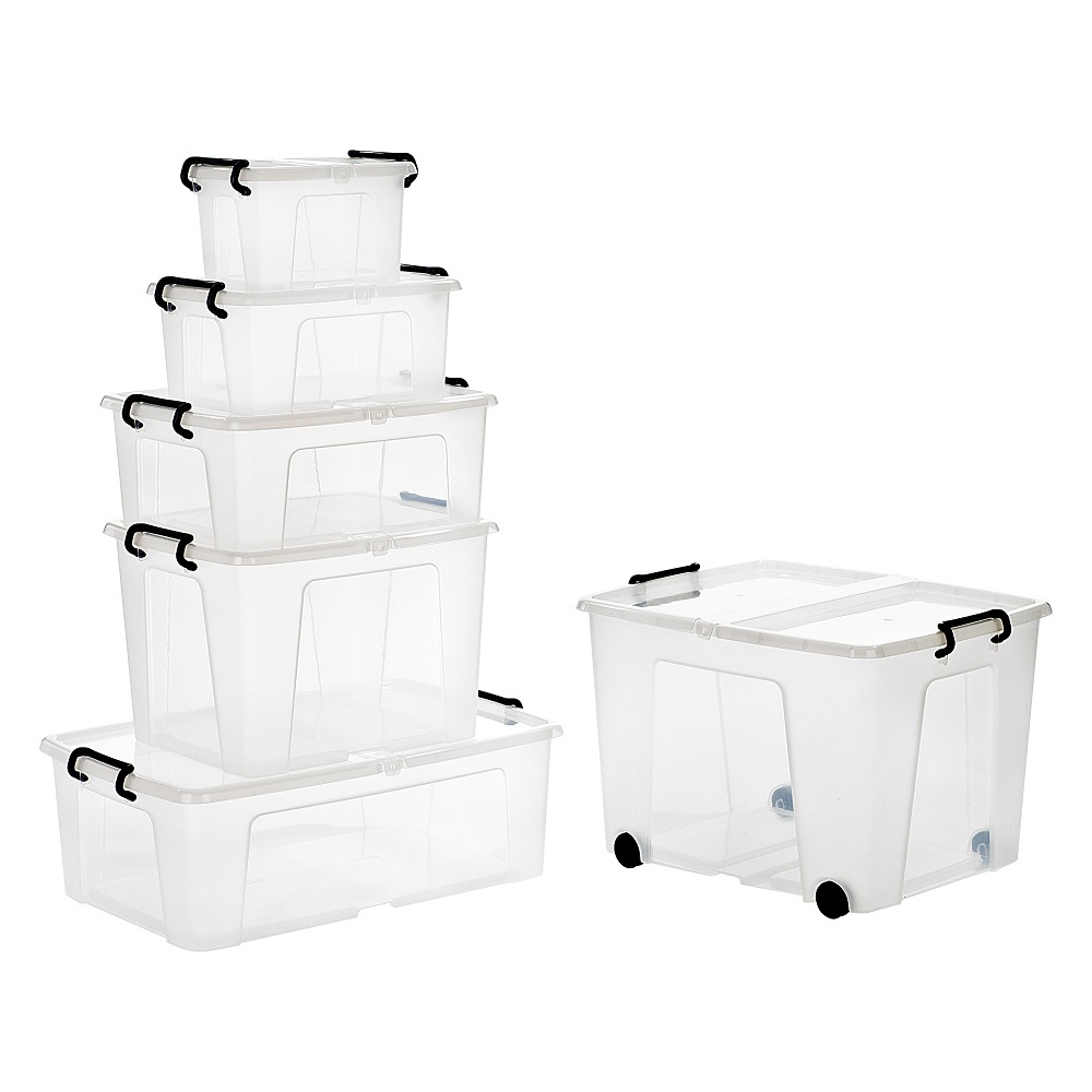 Buy Large 75lt Strata Smart Storemaster Plastic Boxes With Folding