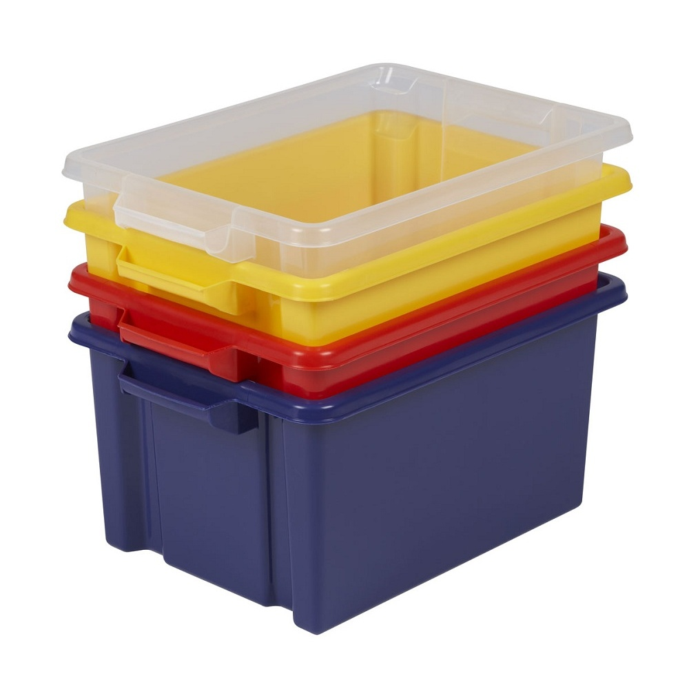 Pack Of 5   32 Litre Maxi Storemaster Plastic Storage Box   NO LID