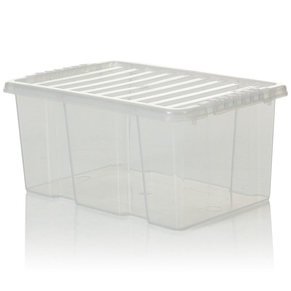 Buy 6lt Plastic Storage Box With Lid