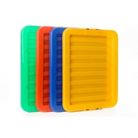 Pack of 5 - LIDS ONLY for the 30L Stack and Store Plastic Boxes
