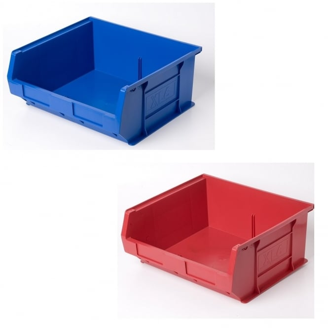 Pack of 5 - XL6 Semi Open Fronted Plastic Boxes